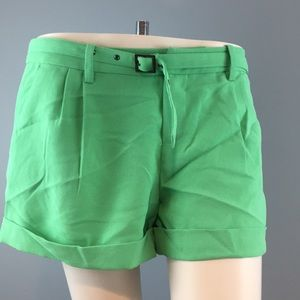 Women's Joie Green Shorts Size 4